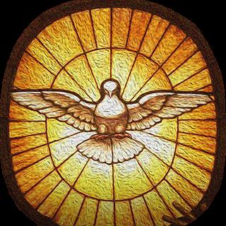 Святой Дух - символ того, что вс можно сделать с Божьей Помощью