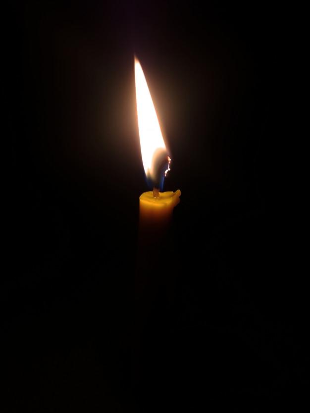 Горение свечи... Медитативный процесс